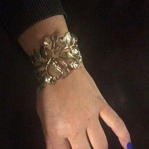 Cuff bracelet - leafs